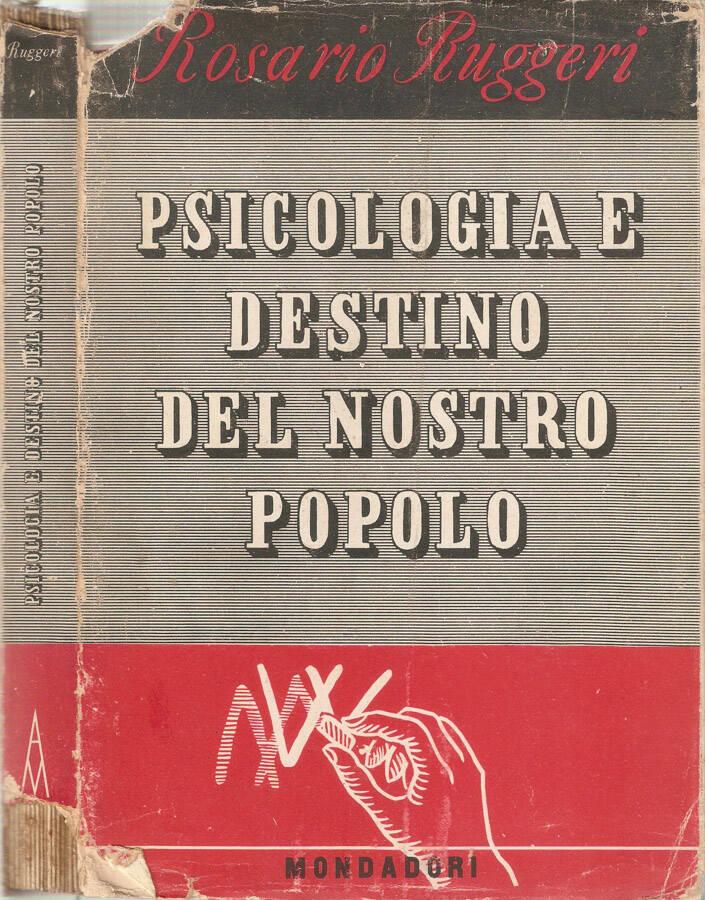 Psicologia e destino del nostro popolo