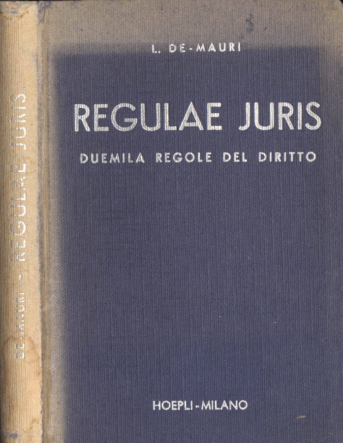 Regulae Juris