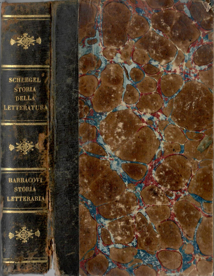 Storia della letteratura antica e moderna ( Vol. I ) - Compendio della storia letteraria d Italia ( Vol. II )