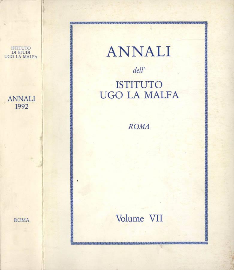 Annali dell Istituto Ugo La Malfa
