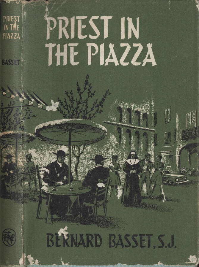 Priest in the piazza