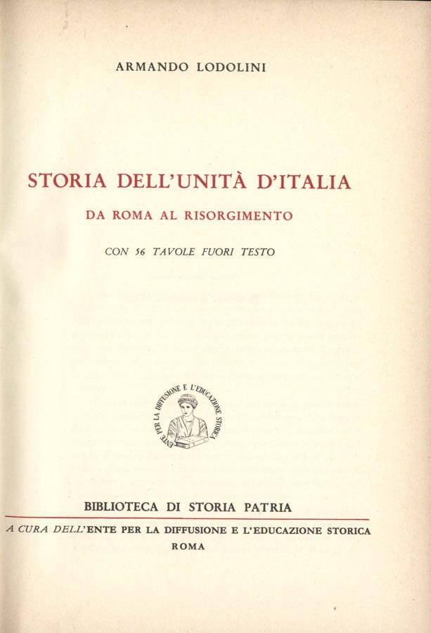 Storia dell unità d Italia