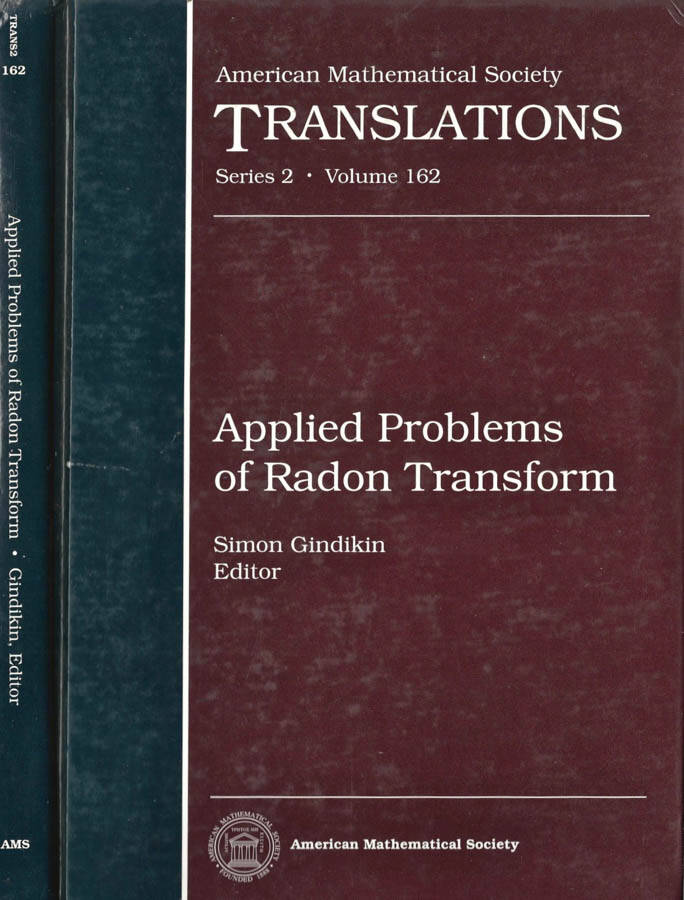 APPLIED PROBLEMS OF RADON TRANSFORM