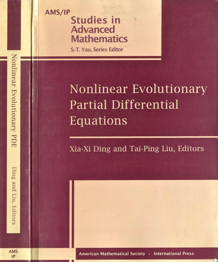 Nonlinear Evolutionary Partial Differential Equations