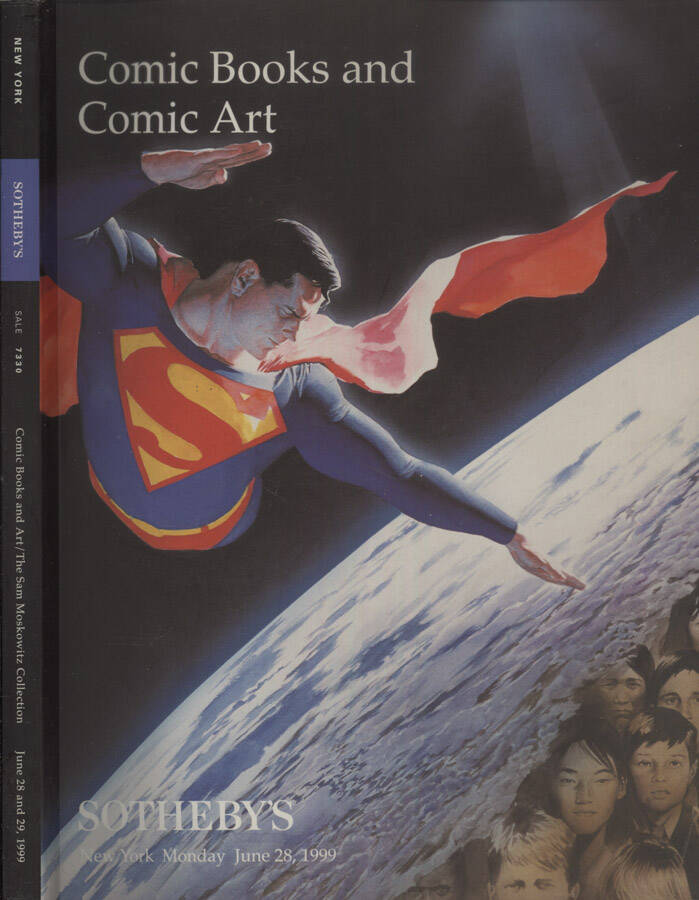 Comic Books and Comic Art. The Sam Moskowitz, Collection of Science Fiction