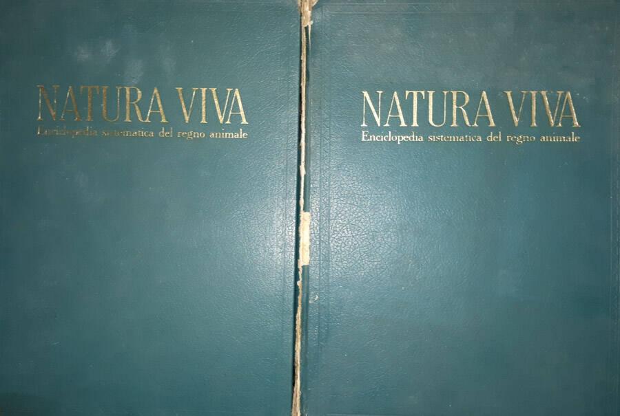 Natura viva. Enciclopedia sistematica del regno animale vol. III V
