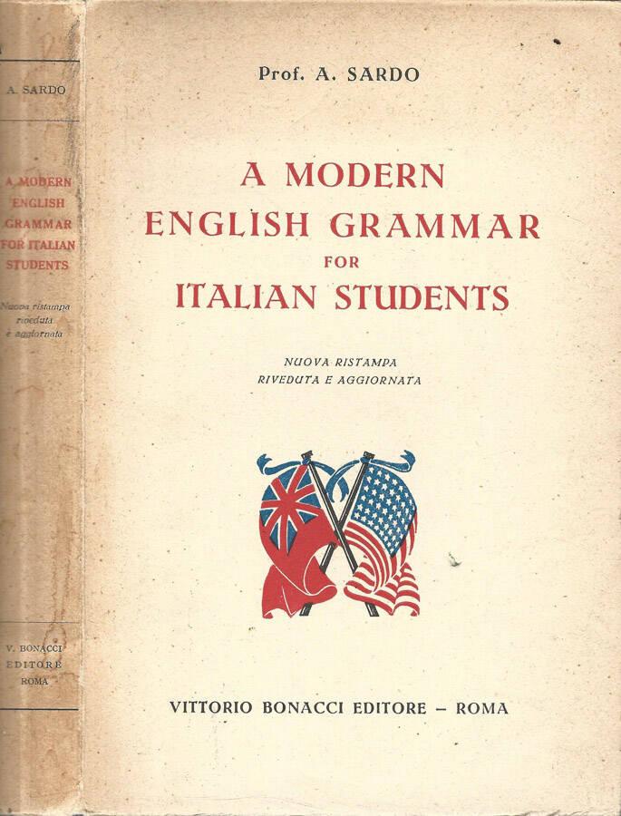 A modern english grammar for italian students