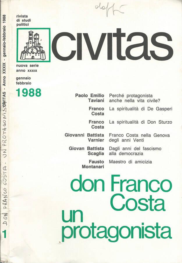 don Franco Costa un protagonista