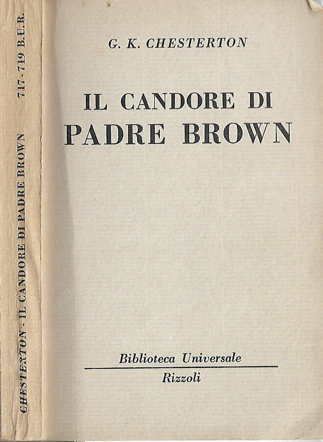 Il candore di Padre Brown