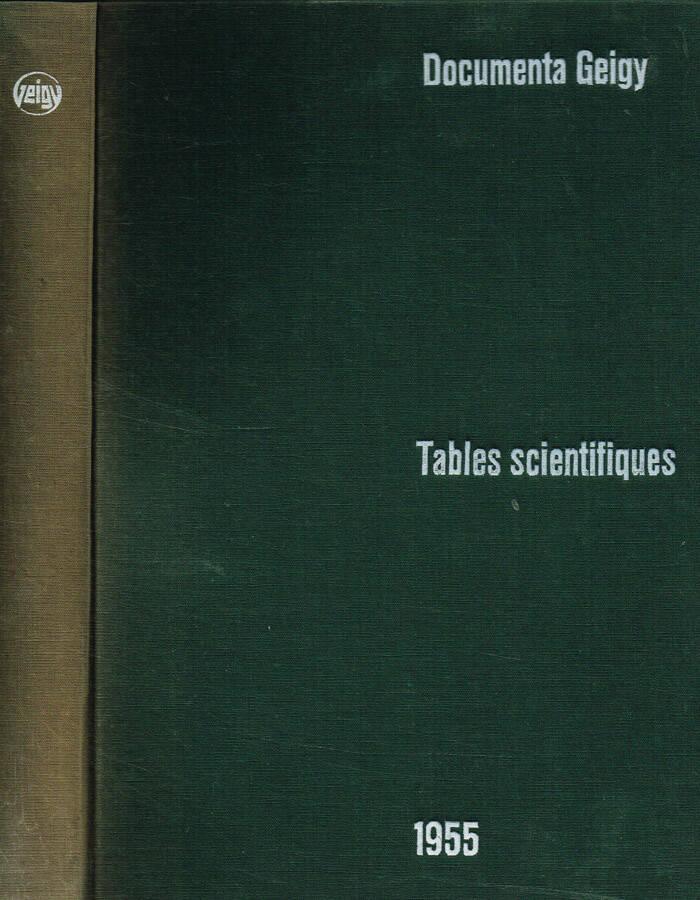 Tables Scientifiques