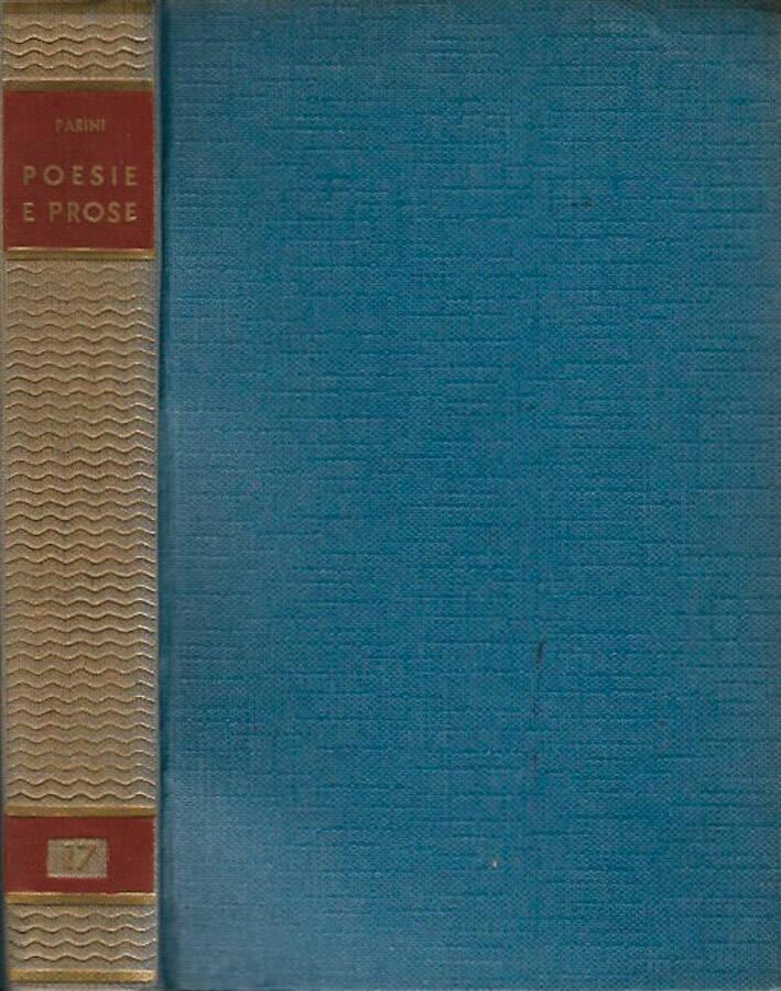 Poesia e prose