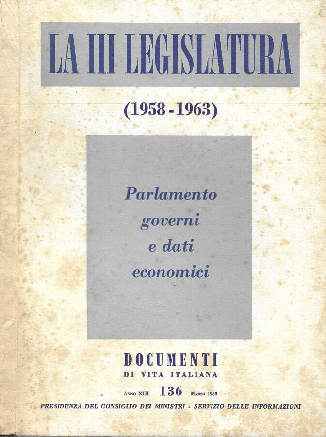 Documenti di vita italiana anno XIII - N° 136