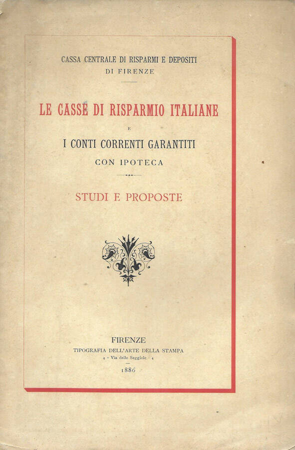 Le casse di risparmio italiane