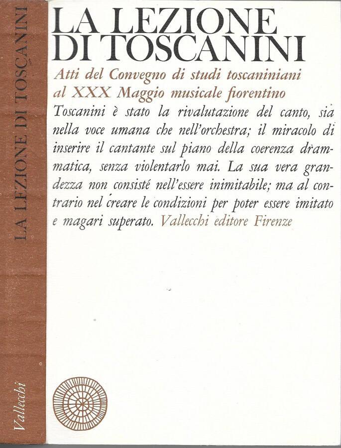 La lezione di Toscanini