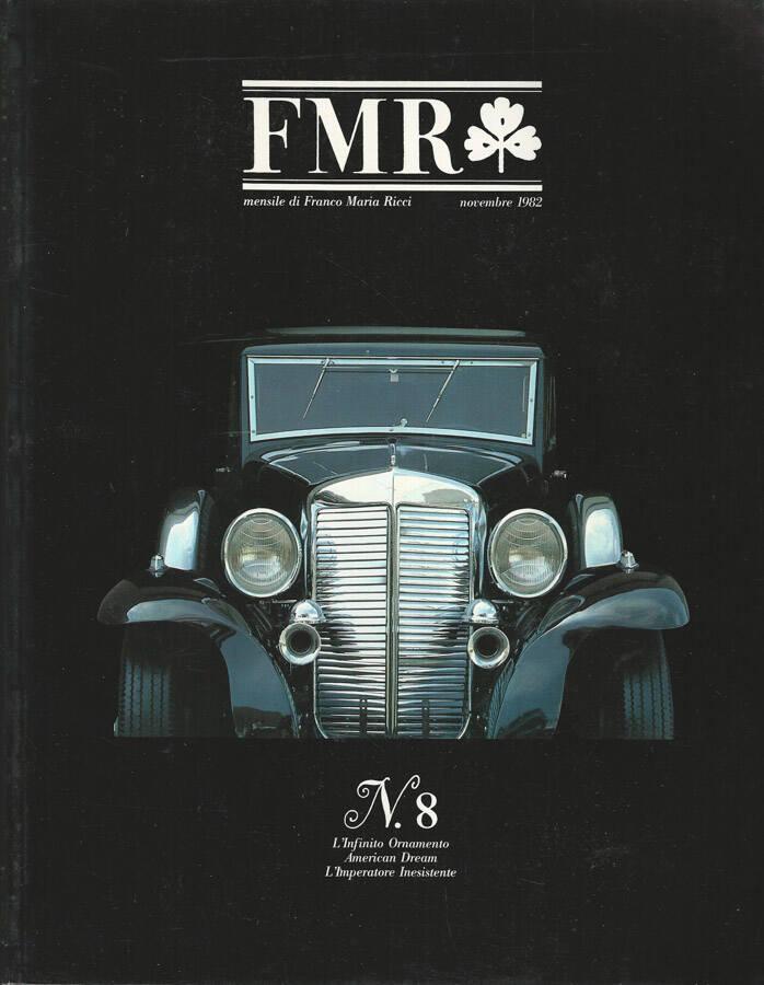 FMR Numero 8 Novembre 1982