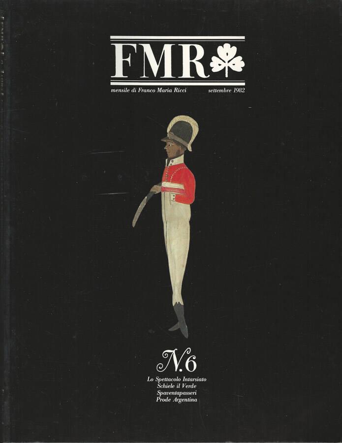 FMR Numero 6 Settembre 1982