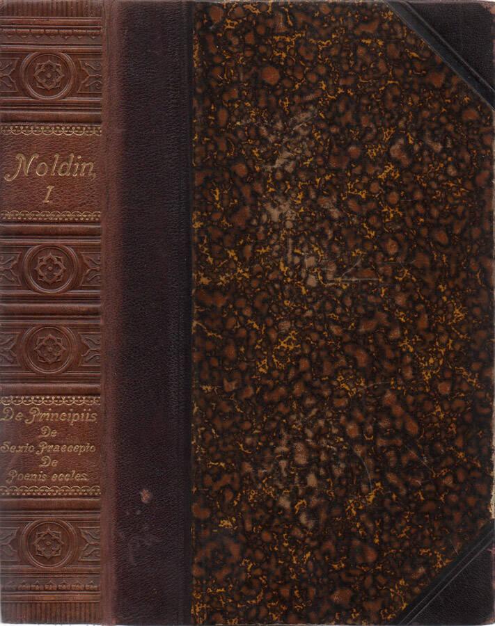 De principiis theologiae moralis (Editio Undecima) - De sexto praecepto et de usu matrimonii (Editio decima quarta)- De poenis ecclesiasticis (Editio decima)
