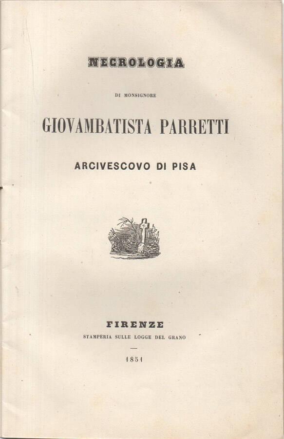 Necrologia di Monsignore Giovambattista Parretti