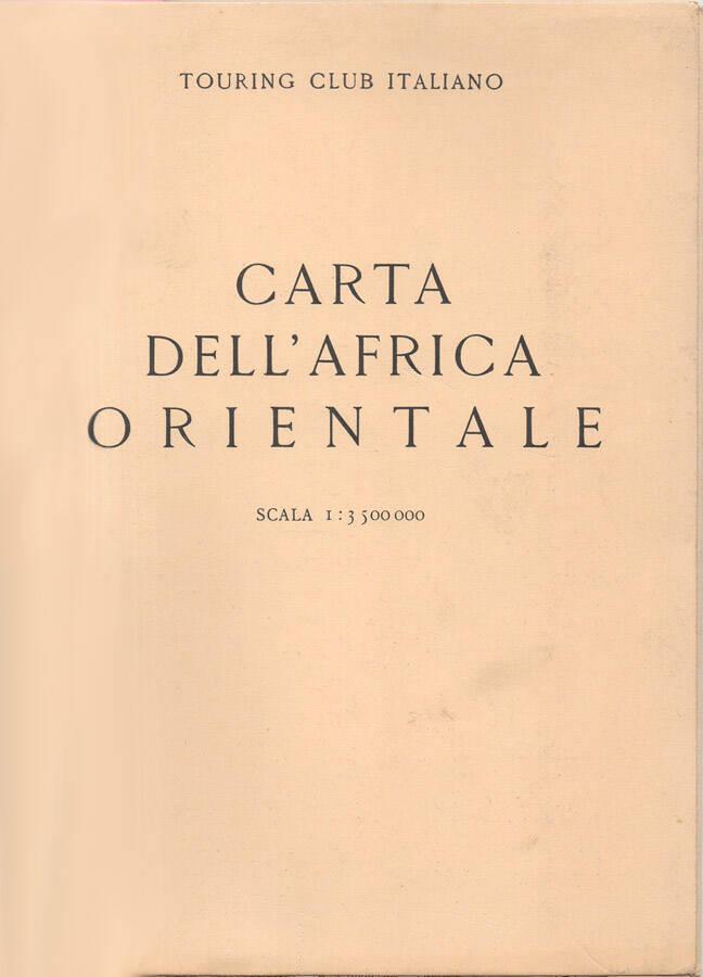 Carta dellAfrica Orientale