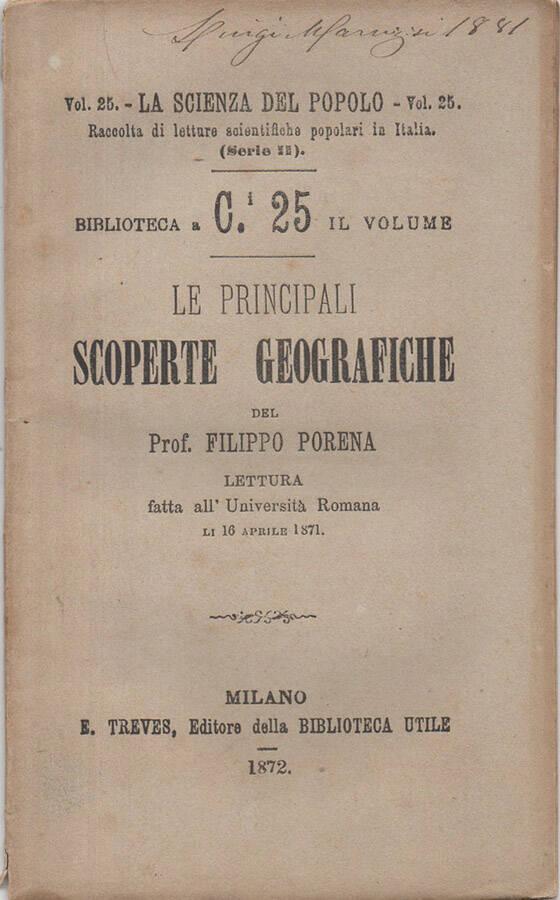 Le principali scoperte geografiche