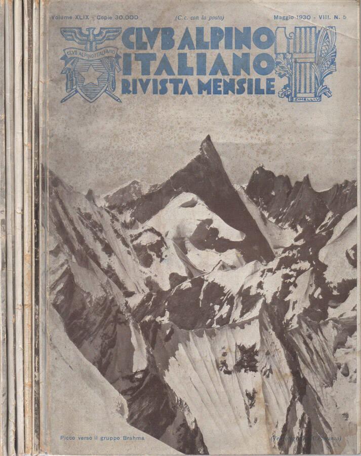 Club Alpino Italiano - 1930