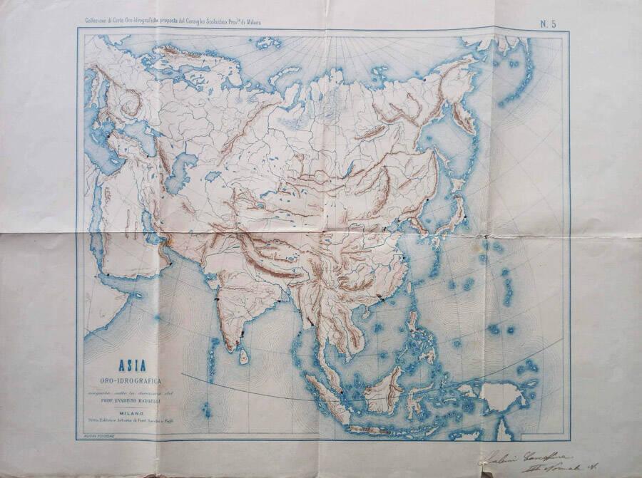 Asia oro-idrografica