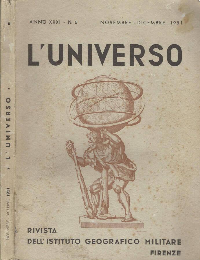 LUniverso Anno XXXI-N° 6