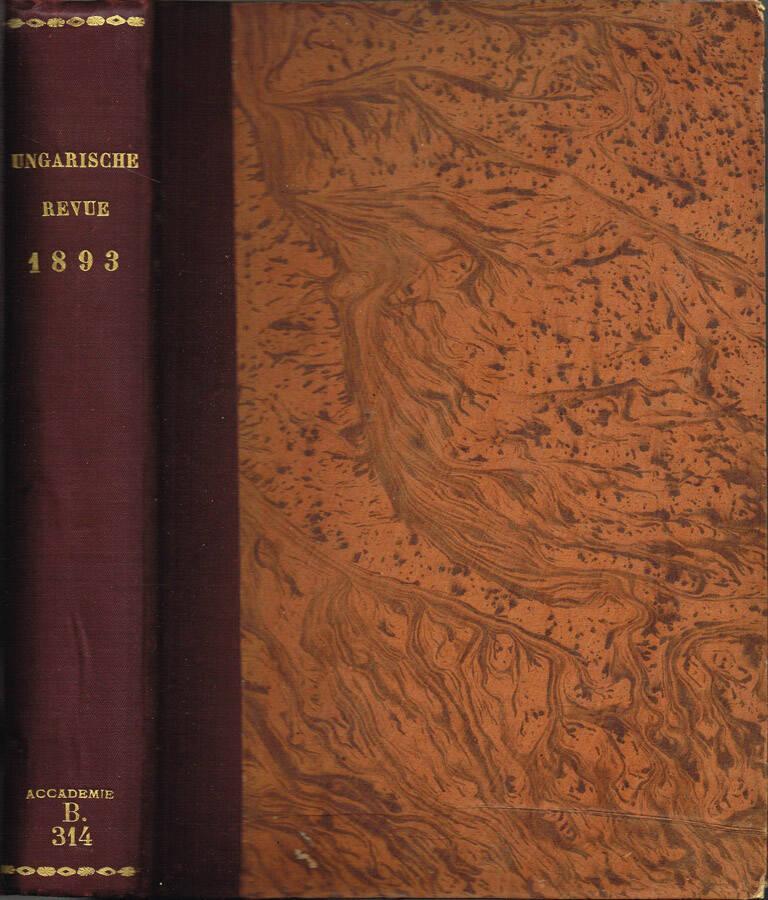 Magyar Akadémiai Ertesito - A Mathematikal és Természettudomanyi osztalyok kozlonye - Hatodik Kotet (Libro Sesto) - I. szam, II szam - 1865