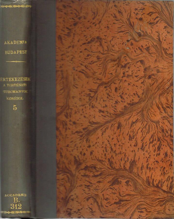 Ungarische Revue - 1893 - Dreizehnter jahrgang