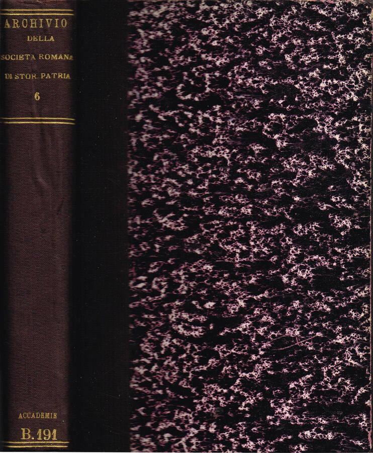 Archivio della Società Romana di Storia Patria - Vol. III - 1879