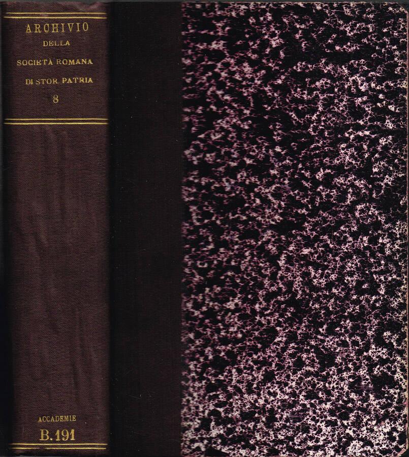 Archivio della Società Romana di Storia Patria - Vol. VI - 1883