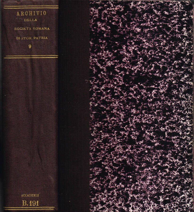 Archivio della R. Società Romana di Storia Patria - Vol. VIII - 1885