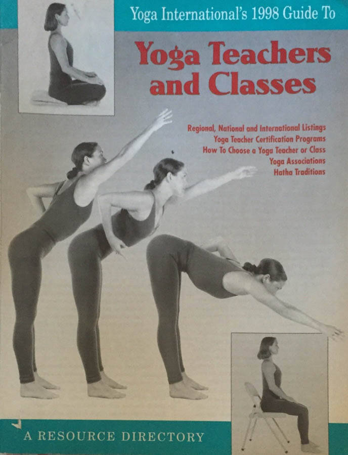 Yoga teachers and classes