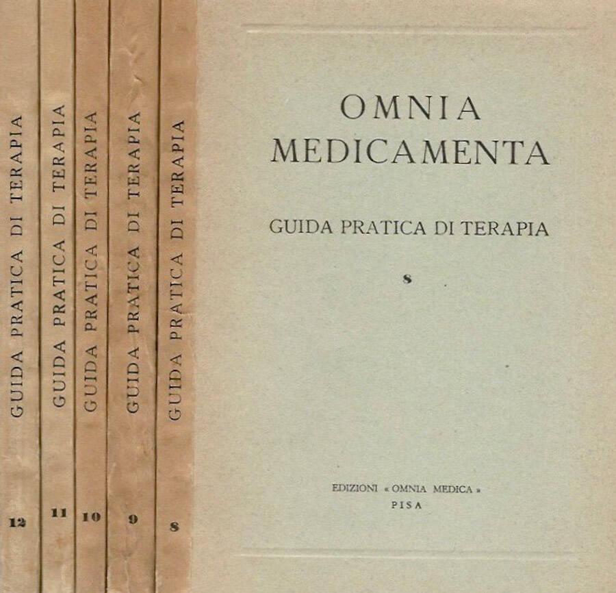 Omnia Medicamenta  vol. 8 - 9 - 10 - 11 - 12 - Guida pratica di terapia