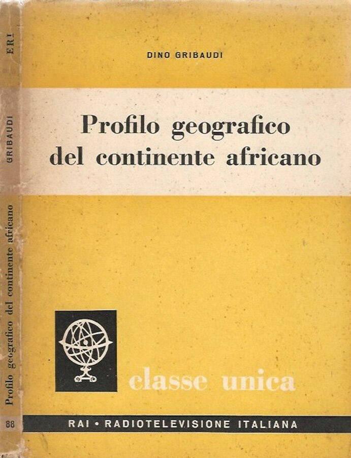 Profilo geografico del continente africano