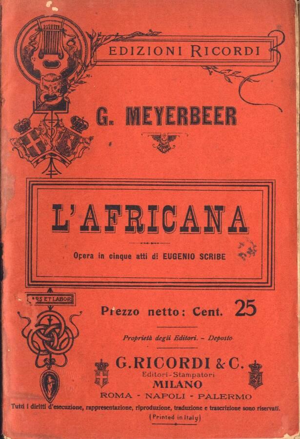 Lucrezia Borgia - melodramma in un prologo e due atti di Felice Romani